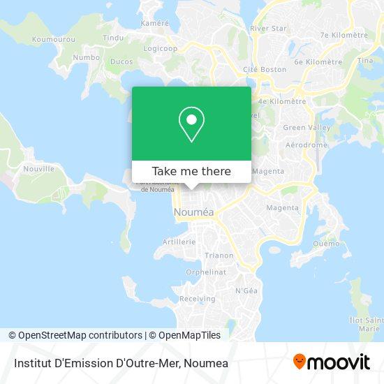 Institut D'Emission D'Outre-Mer map