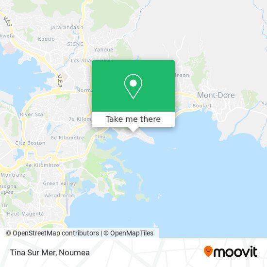 Tina Sur Mer map