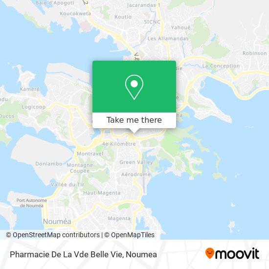 Pharmacie De La Vde Belle Vie map