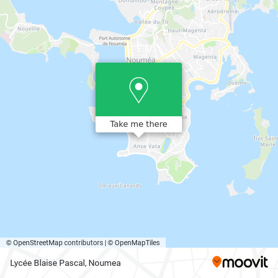 Lycée Blaise Pascal map