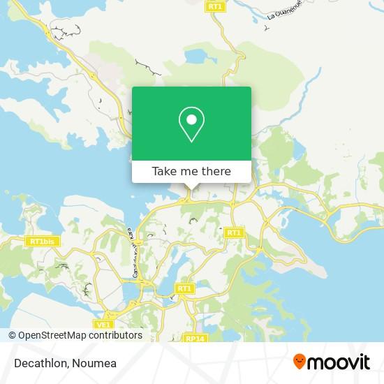 Decathlon map
