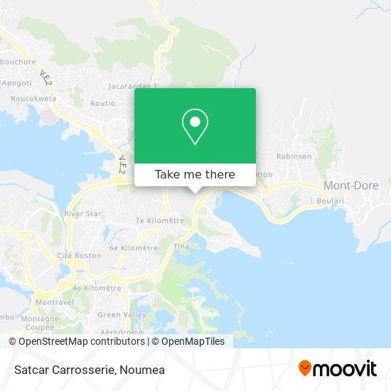 Satcar Carrosserie map