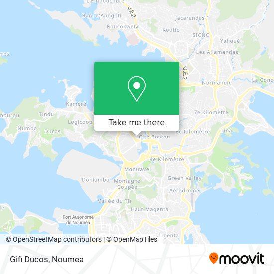 Gifi Ducos map