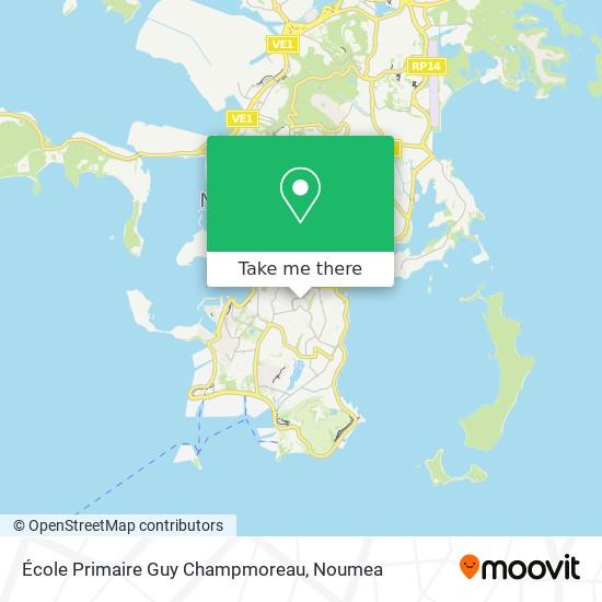 École Primaire Guy Champmoreau map