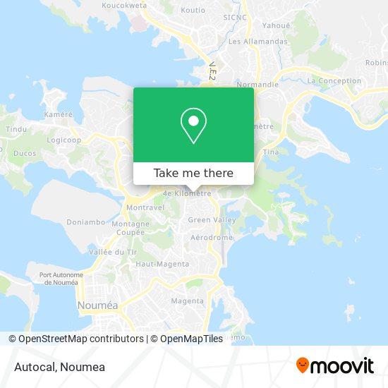 Autocal map