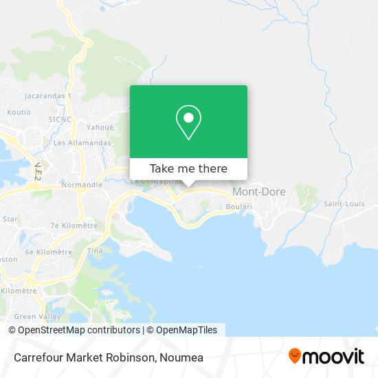 Champion Robinson map