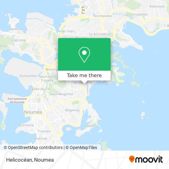 Helicocéan map