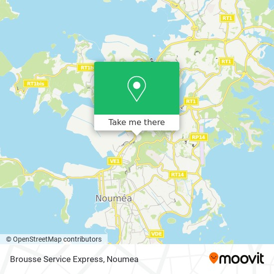 Brousse Service Express map