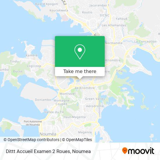 Dittt Accueil Examen 2 Roues map