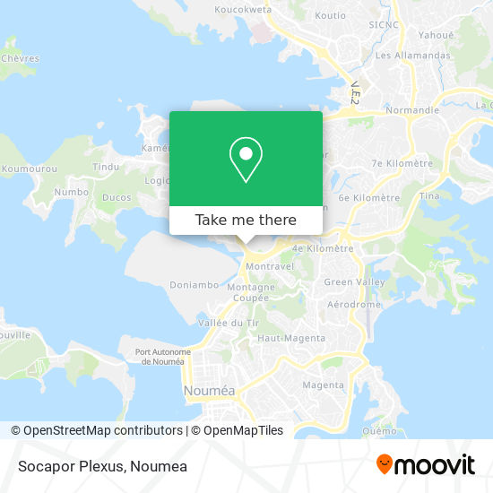 Socapor Plexus map