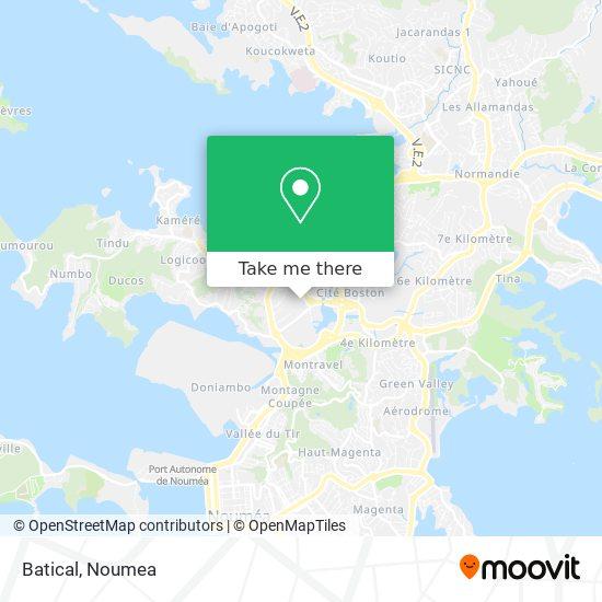 Batical map