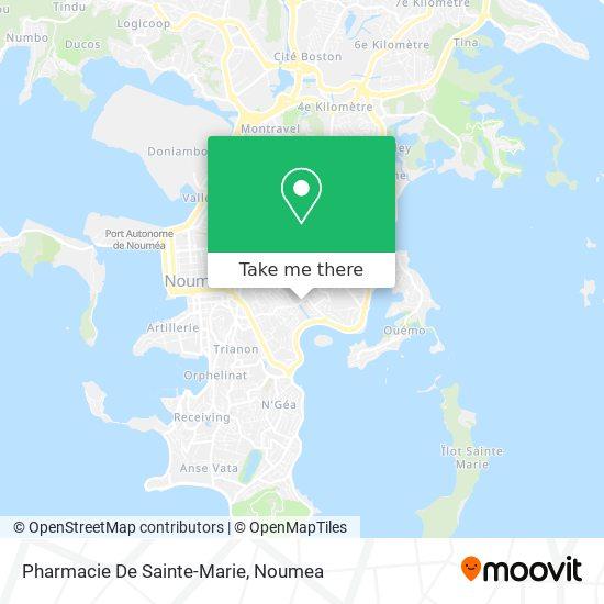 Pharmacie De Sainte-Marie map