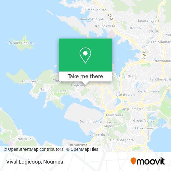 Vival Logicoop map