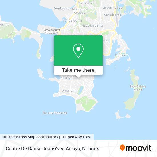 Centre De Danse Jean-Yves Arroyo map