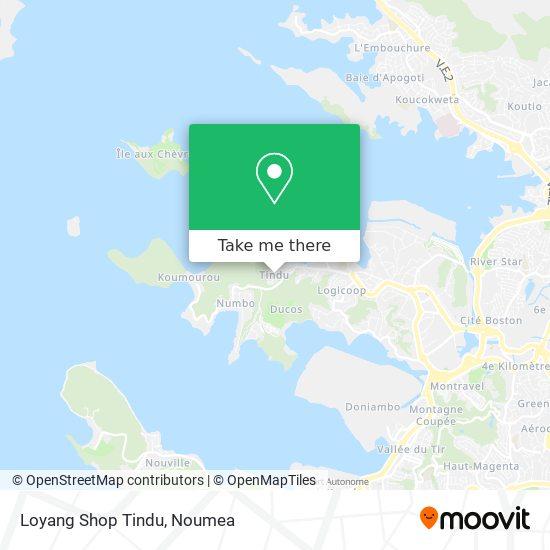 Loyang Shop Tindu map