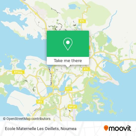 Ecole Maternelle Les Oeillets map