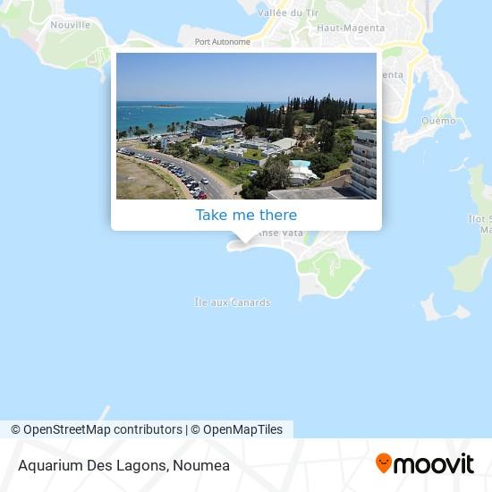 Aquarium Des Lagons map
