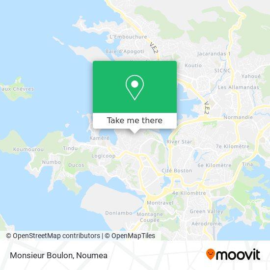 Monsieur Boulon map