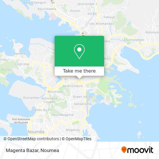 Magenta Bazar map