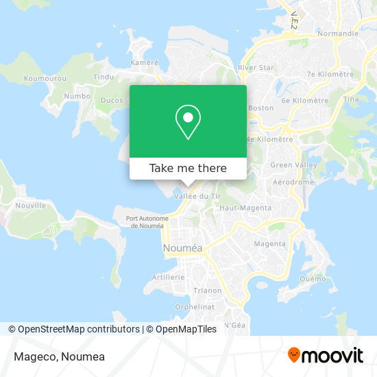 Mageco map