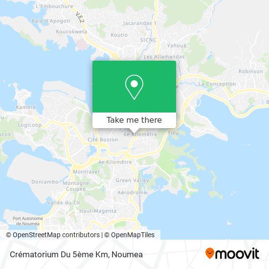 Crématorium Du 5ème Km map