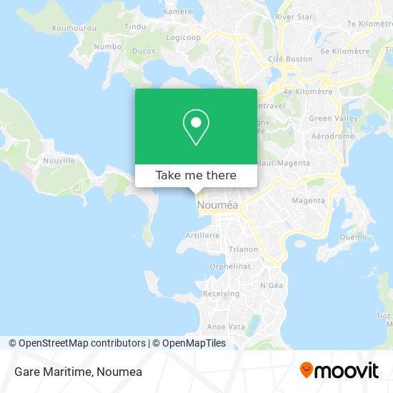 Gare Maritime map