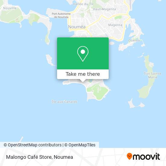 Malongo Café Store map