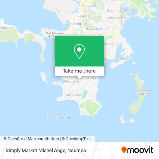 Simply Market Michel Ange map