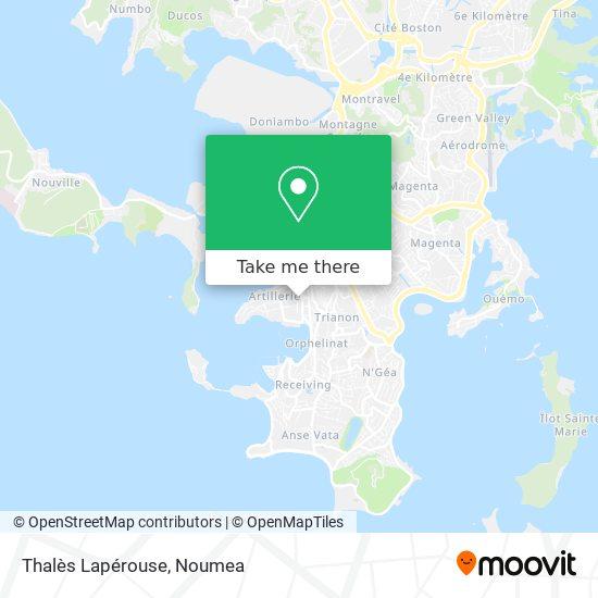 Thalès Lapérouse map