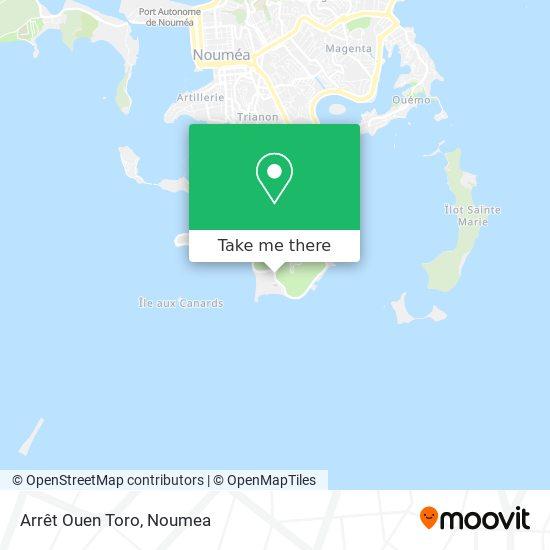 Arrêt Ouen Toro map