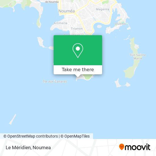 Le Méridien map
