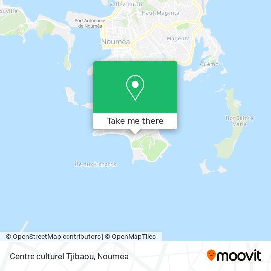 Centre culturel Tjibaou map
