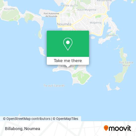 Billabong map