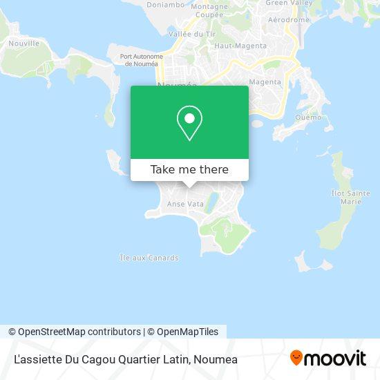 L'assiette Du Cagou Quartier Latin map