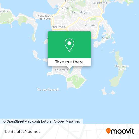 Le Balata map