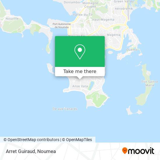 Arret Guiraud map