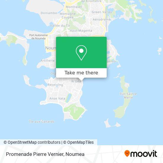 Promenade Pierre Vernier map