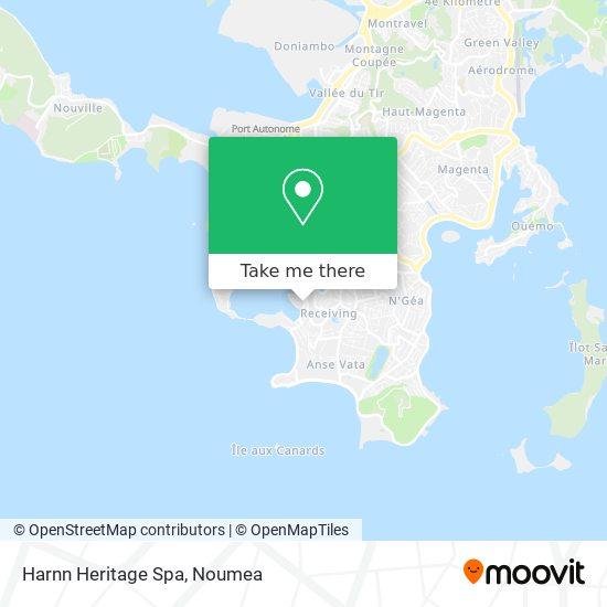 Harnn Heritage Spa map