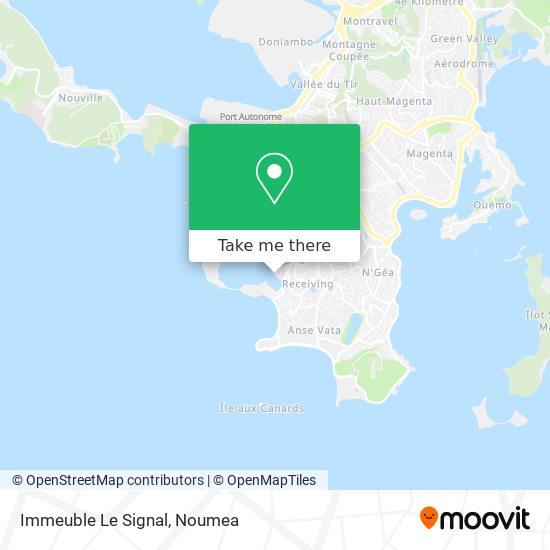 Immeuble Le Signal map