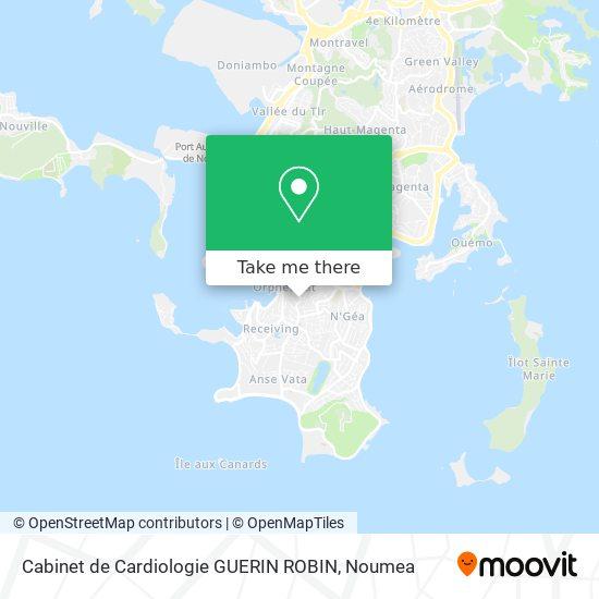 Cabinet de Cardiologie GUERIN ROBIN map