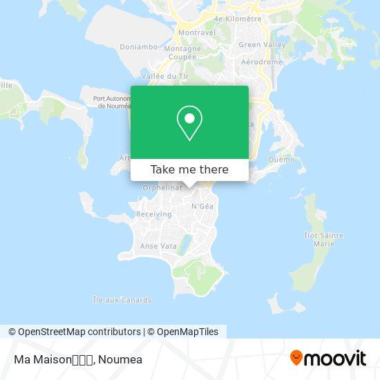 Ma Maison🏡🌾🌹 map