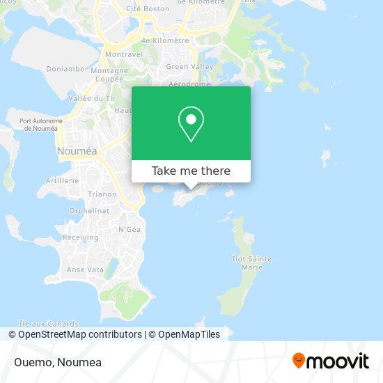 Ouemo map