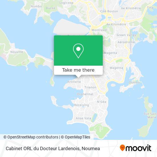 Cabinet ORL du Docteur Lardenois map