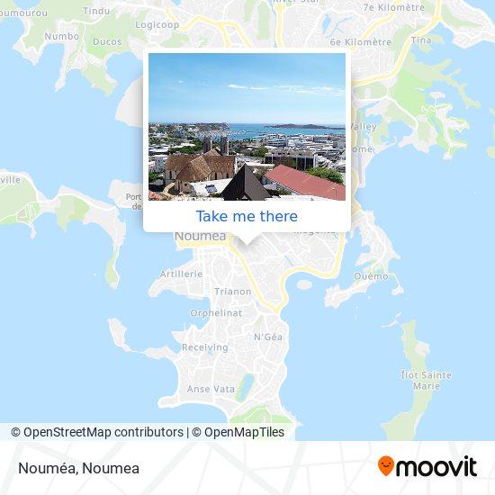 Nouméa map