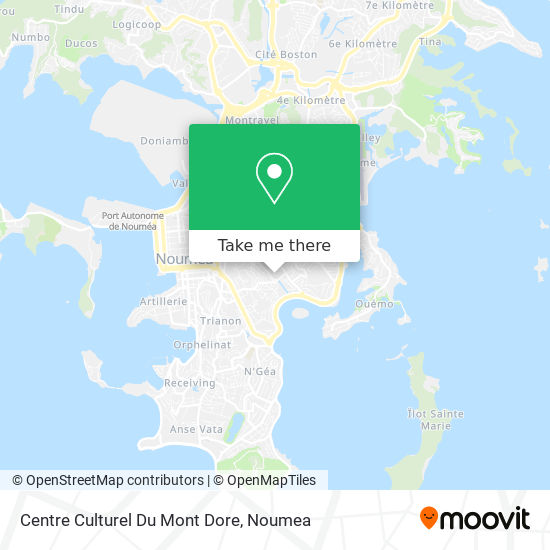 Centre Culturel Du Mont Dore map