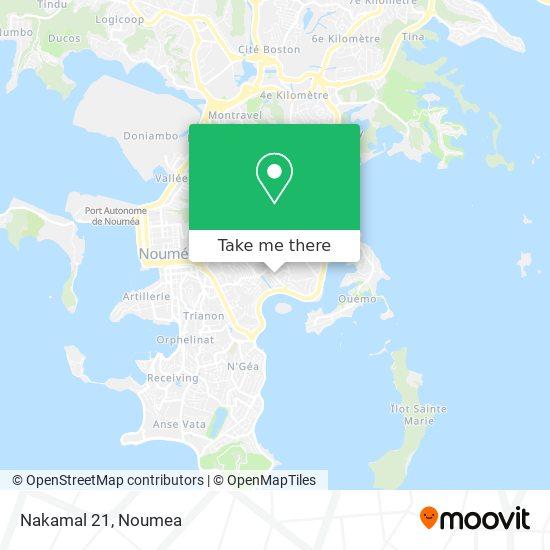 Nakamal 21 map