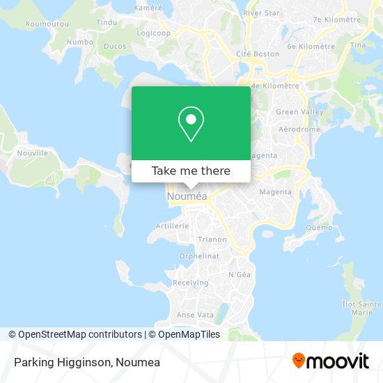 Parking Higginson map