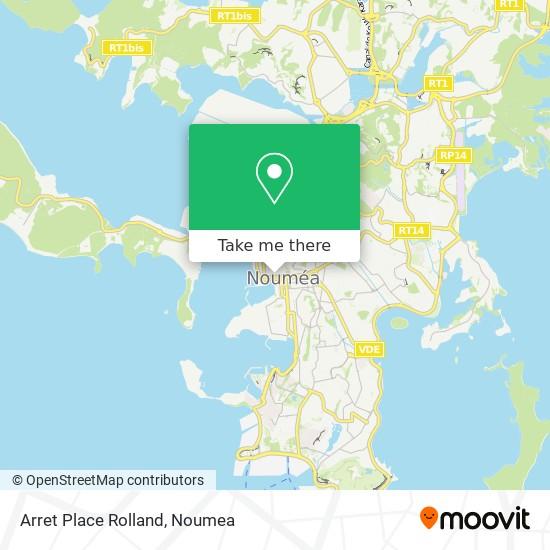 Arret Place Rolland map