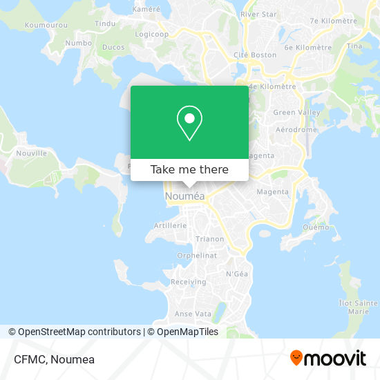 CFMC map