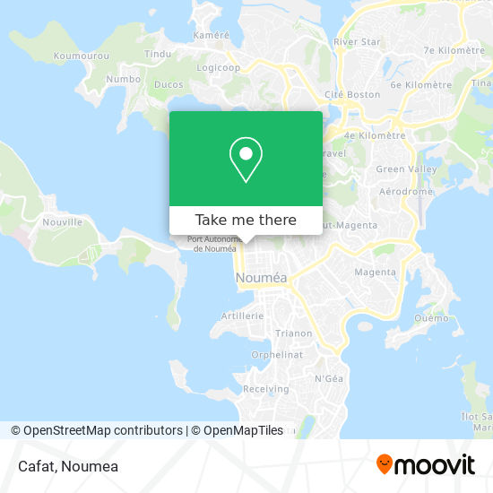 Cafat map